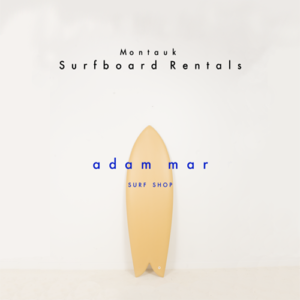 Surfboard rentals from Adam Mar