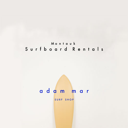 Surfboard rentals at Adam Mar Surf Shop