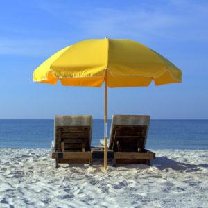 Enjoy wi-fi on the beach.