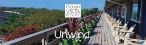 Ocean Vista Resort beach front Terrace